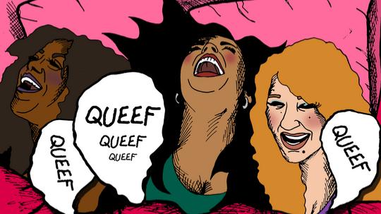 Queefing during sex
